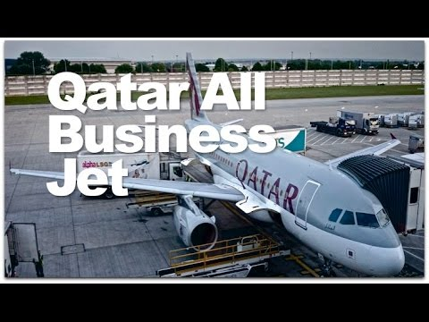 Qatar Airways All Business Class Jet Review | Qatar's A319 Business One Class Flight