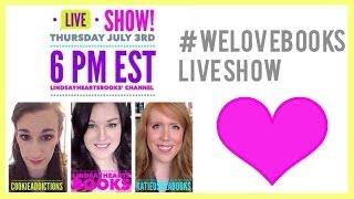 #WeLoveBooks Live Show!