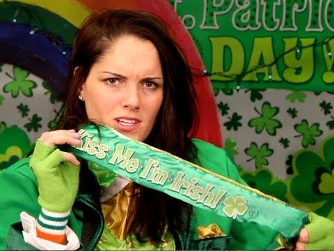 Kristen Stewart Explains St. Patrick's Day!