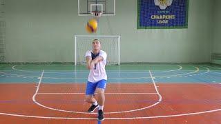 Вправи для відпрацювання прийому та передачі м'яча у волейболі