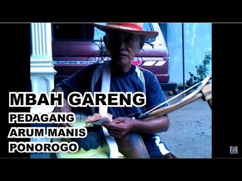 Pedagang Arum Manis Ponorogo - Mbah Gareng