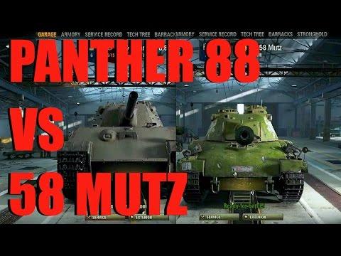 WOT - Panther 88 vs 58 Mutz
