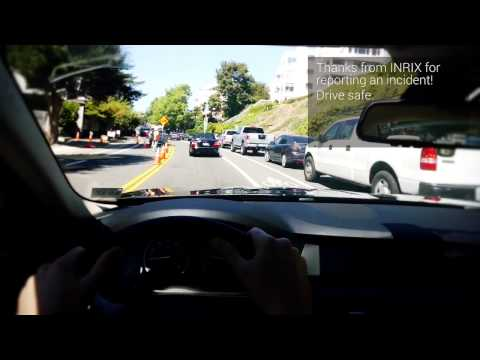 Explore the Future of Commuting with INRIX Traffic 5.0 and Google Glass