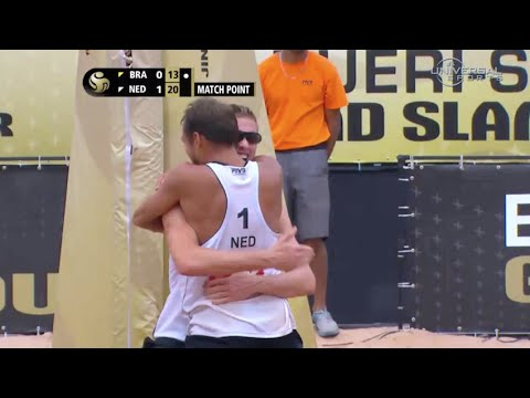 Netherlands Men's Volleyball Takes Gold - Universal Sports