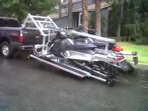 Hydraulic Sled Deck Youtube