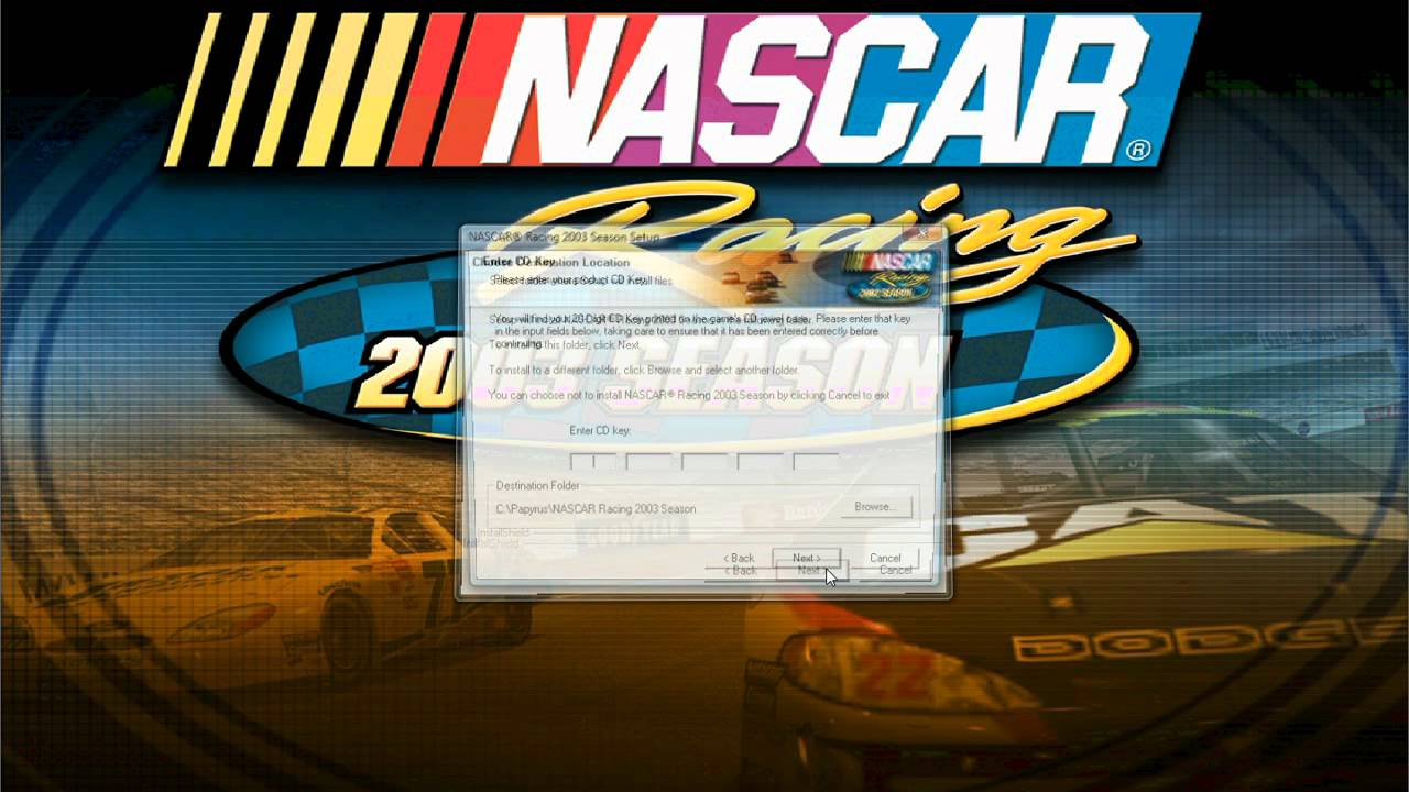 nascar racing 2003 no cd patch
