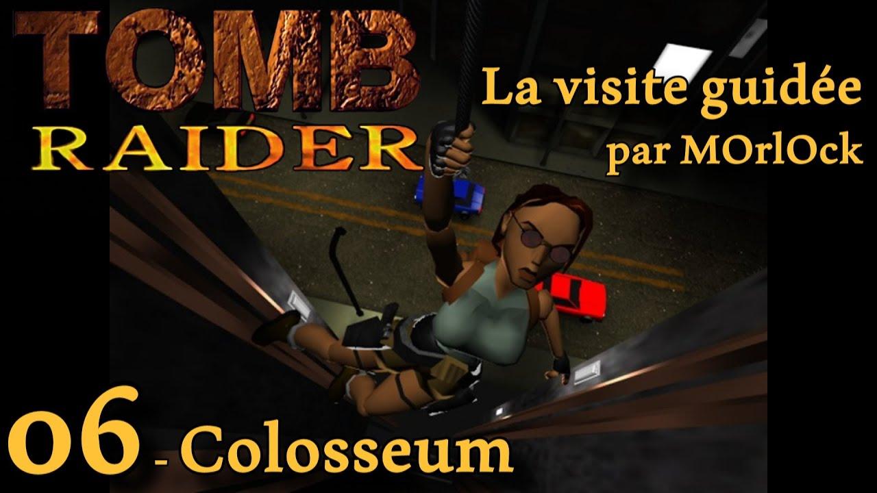 Tomb Raider 1 - 06 - Colosseum [Solution] [No Meds] fr