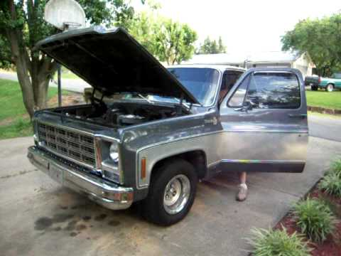 chevy pickup walk around sounds badass add to ej playlist 79 chevy ...