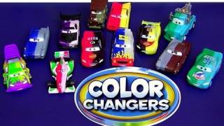 12 Color Changers CARS Boost, Wingo, Lightning Mcqueen, Sarge, Finn McMissile Disney water toys