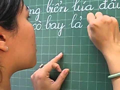 Thi viết chữ đẹp (Phần thi GV)