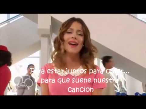 La Canciones De Violetta Letra