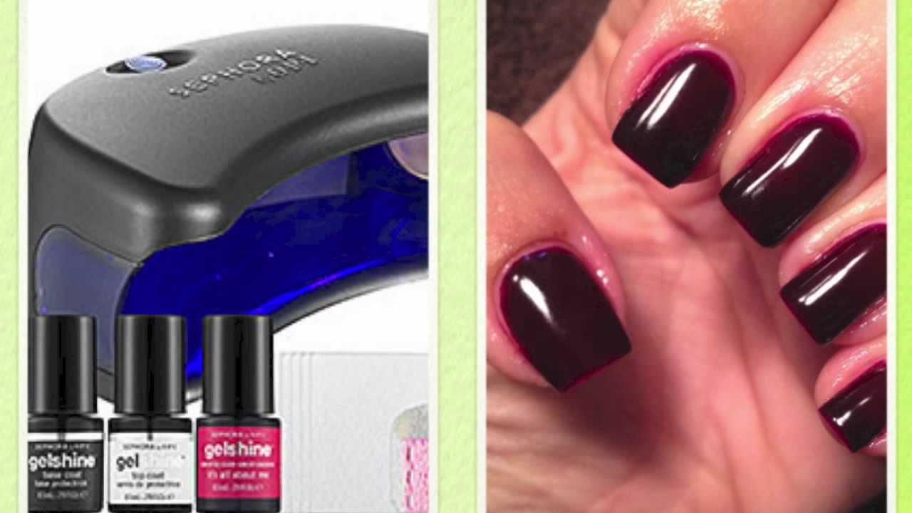 Gel Manicure ★ Sephora by OPI GelShine - YouTube
