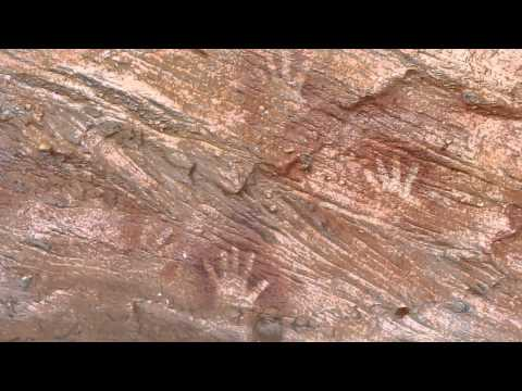An Aboriginal Elder Talks about the cave paintings in Mutawintji National Park