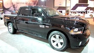 2014 RAM 1500 Sport Exterior And Interior Walkaround