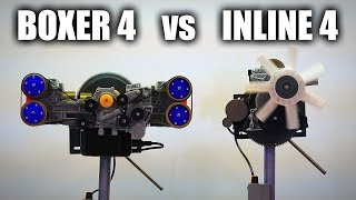 The Differences Between Inline Four & Boxer Four Engines