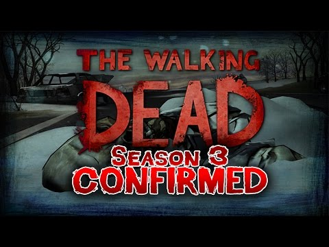 Telltale Games The Walking Dead Season 3 Confirmed :D