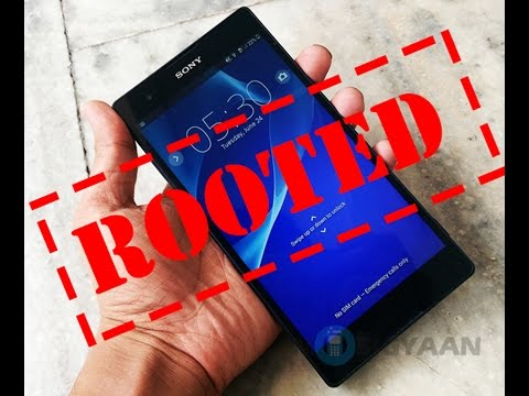 Como fazer root no Sony Experia T2 Ultra sem pc 2017