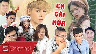 Schannel REACTION - Xem EM GÁI MƯA Cover hot nhất : Linh KA, Mr Siro, Đức Phúc, Anh Khang...