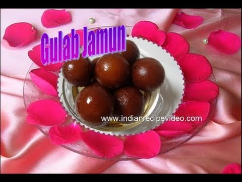 Gulab Jamun Recipe Video - Indian Recipes by Bhavna