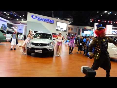 การแสดงบูท Ssangyong งาน Motor Show 2014
