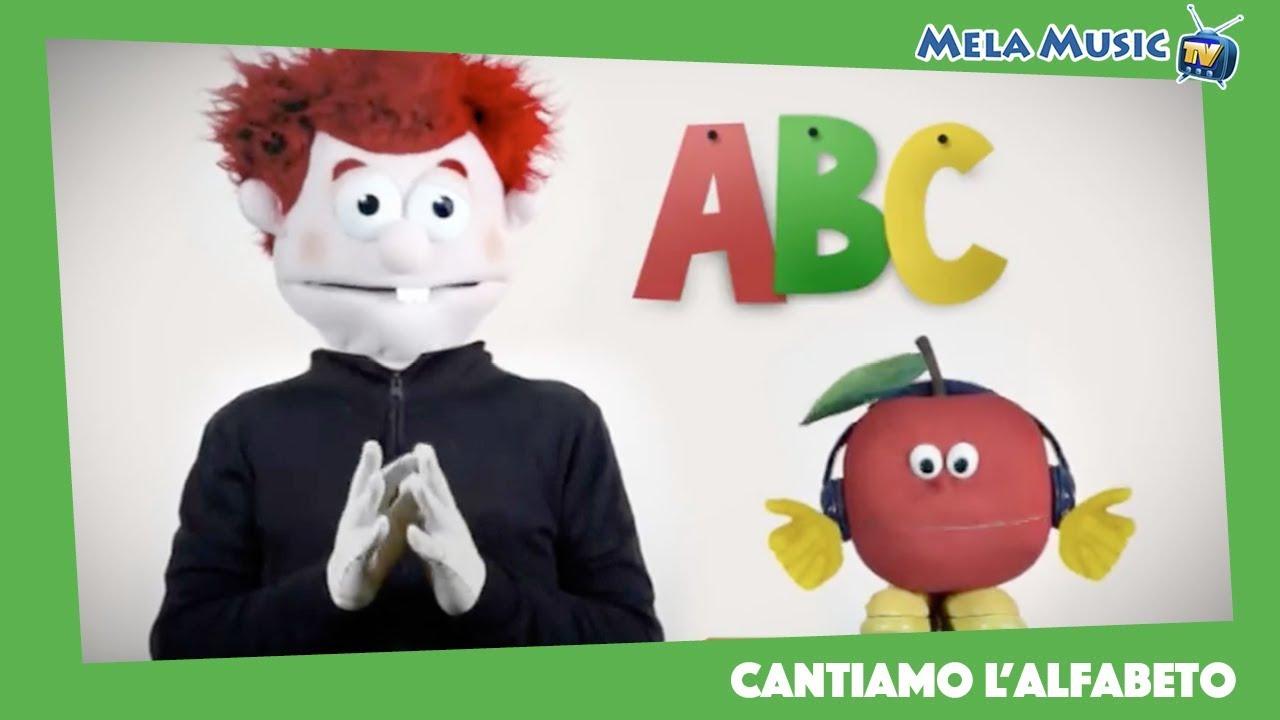 Cantiamo l alfabeto canzoni per bambini di mela music