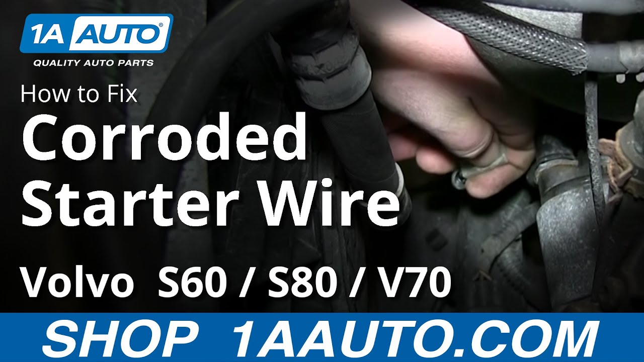 volvo s80 solenoid location