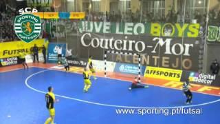 Futsal :: UEFA Cup: Sporting CP - 6 x Gyori ETO FC - 1 de 2013/2014