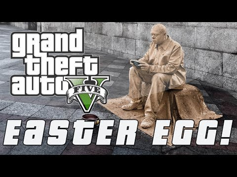 Grand Theft Auto 5 | Hidden Statue Man Easter Egg (GTA V)