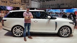 Range Rover SV Coupe - Geneva Motorshow