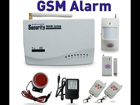 Китайская GSM сигнализация Security Alarm System