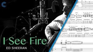Piano I See Fire (The Hobbit) Ed Sheeran Sheet Music