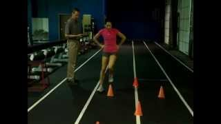 Speed, Agility And Quickness Testing--figure 8 Hop Test