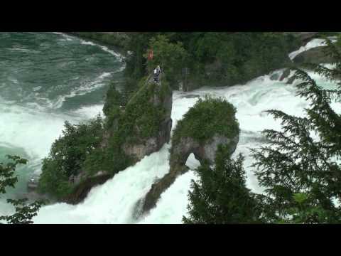 The Rhine Falls, Switzerland, HD 1080p