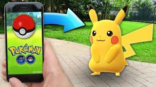 HOW TO START POKEMON GO WITH PIKACHU! (This is EPIC)
