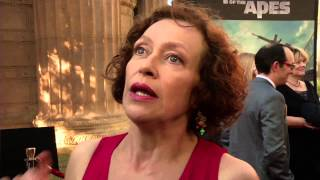Dawn Of The Planet of the Apes: Karin Konoval  Red Carpet Movie Premiere Interview