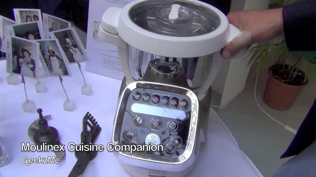 Moulinex cuisine companion pr sentation fr youtube - Moulinex cuisine companion vs thermomix ...