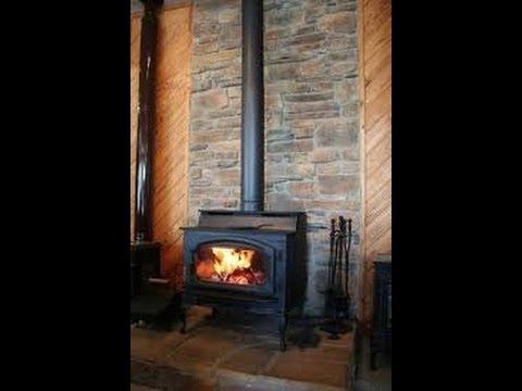 wood stove chimney pipe installation explained youtube