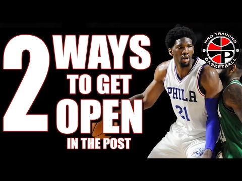 Get The Ball More | 2 Ways To Get Open | Pro Training Basketball