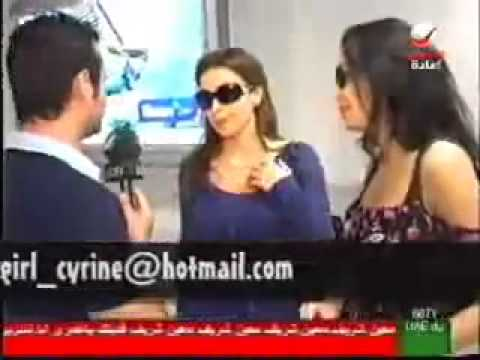 Cyrine Abdel Nour - On Rotana News 9