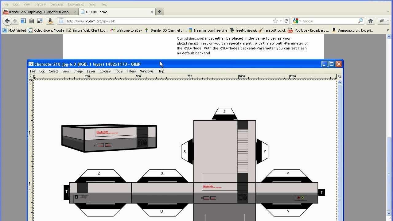 Blender 2 5 Displaying 3d Models In Web Pages Using Webgl
