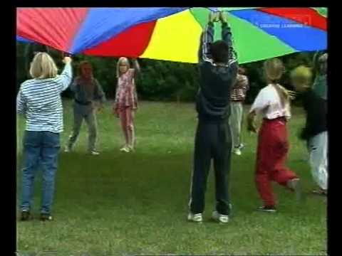 Parachute - 1.75 Metres* A fun way of developing basic physical coordination