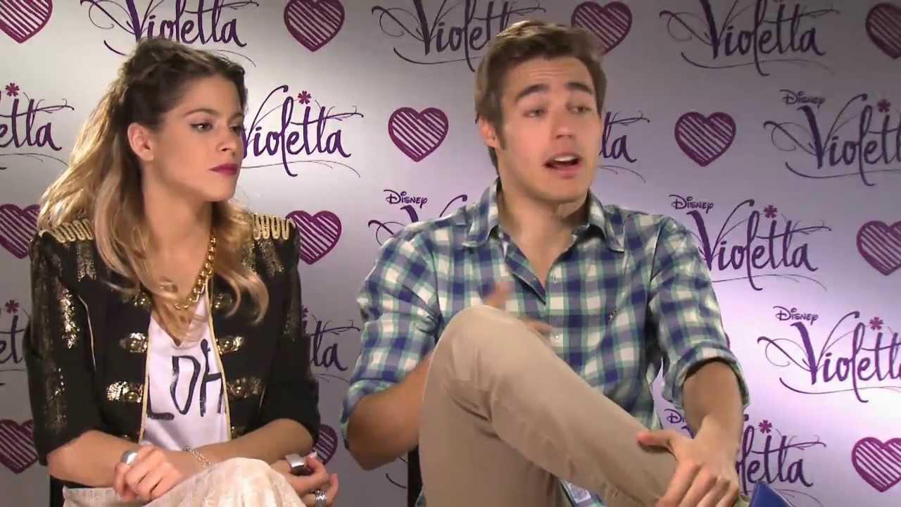 Violetta - intervista a Martina Stoessel e Jorge Blanco
