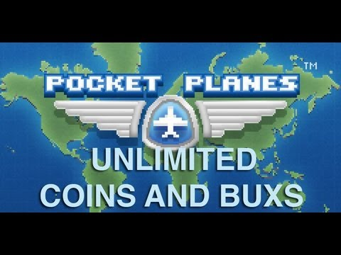 How to get unlimited coins and bux on pocket planes free. NO JAILBREAK