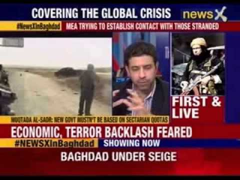 NewsX Exclusive: Baghdad siege on NewsX