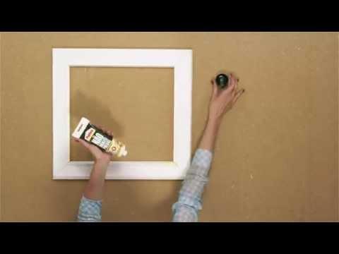 Bricofans   Criar quadros com molduras decorativas