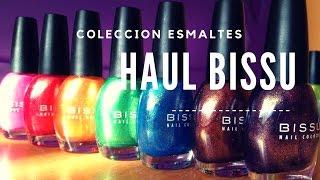 #HAUL Coleccion Esmaltes Bissu Colores De Moda, Primavera