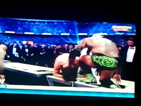 Wrestlemania xxx(30) powerbom rko on daniel bryan