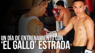 Un Día De Entrenamiento Con 'El Gallo' Estrada