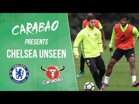 CHELSEA UNSEEN Hazard gets nutmegged Chalobah wrestles our cameraman and so many skills