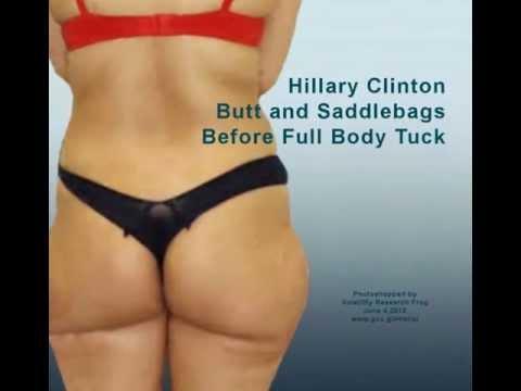 Hillary Clinton Ass 100